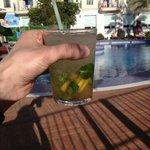 mojito cocktail (3,-)