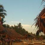 Beach in front of Ritas