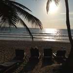 Morning on the ixchel cabana beach