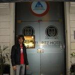 Puerta de entrada del Hostel