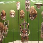Ausstellungsstücke (Masken)