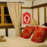 Inside the cottage - bedroom