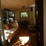Paia Inn lanai of 2-bedroom suite