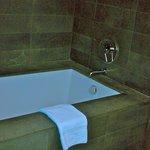 Stone tub!
