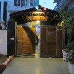 Front door Shanti Home