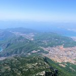 You can see Oludeniz (le