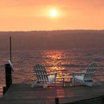 Beautiful Sunrise from Dock