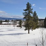 Tamarack golf course under a blanket of snow