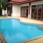 Personal pool at own villa