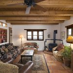 The Pinon living room - plenty of room for a family or group.