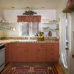 The Cottage features a sweet kitchen, should you wish to eat in on occasion.