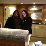 Reception Desk - Erika's on the right