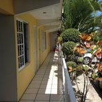 Hotel Mango - pasillos