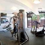 State of the art cardio equipment and weights.