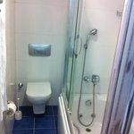 banheiros muito limpos e novos