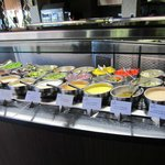 "Salad bar at ""The Market"" restaurant"