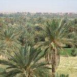 vistas con Ouarzazate al fondo