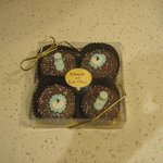Chocolate covered Oreo cookies!!!!  OMG