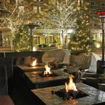 Outdoor Fire Pits in the Winter