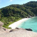 Island #8's beach