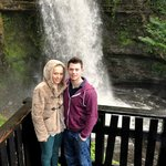 Me & Aaron at waterfall