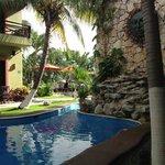 The pool at Aventura