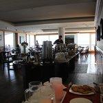 Large breakfast buffet