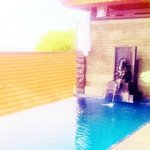 our private pool with ganesh