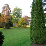 View from the window on the park  - Novotel Château de Maffliers - May 11, 2012