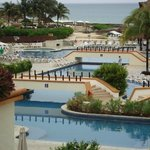 the massive resort
