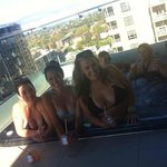 Awesome Hot Tub on the balcony