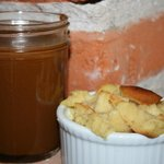 Bread Pudding and Homemade Caramel Sauce