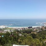picture of camps bay from balcony