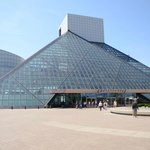 Rock and Roll Hall of Fame entrance