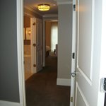 Hallway to master bath and bedroom.