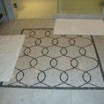 Beautiful marble floor.