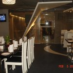 The decor of the journey venue