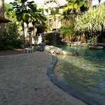 Beautiful pool area - especially great for toddlers