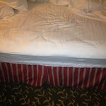 crappy mattress - before & after