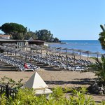 Mediterranean beach area