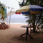 beach on tangalla