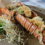 lobster garlic pepper