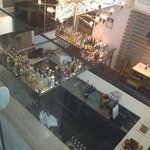 peoples cafe bar from the top