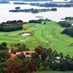 Golfplatz Luftbild