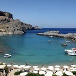 Bay of St Paul - beneath the Acropolis of Lindos