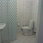 Bathroom from Wittrup twin bed or double bed room