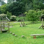 Lovely play area in the beautiful gardens