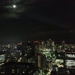 Night view of Tokyo city from Room