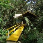 Entrada da Cabana onde ficamos                             (57945591)