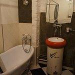 'Retro Room' bathroom
